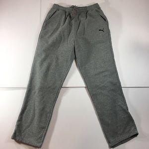 Puma Men's Gray Sweatpants (Medium)